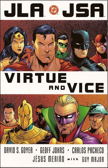 JLA/JSA: Virtue and Vice 1-A by DC
