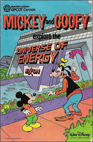 Mickey and Goofy Explore the Universe Of Energy nn-A by Disney