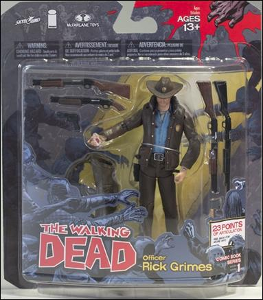 Walking Dead (Comic Book Series 1) Officer Rick Grimes by McFarlane Toys