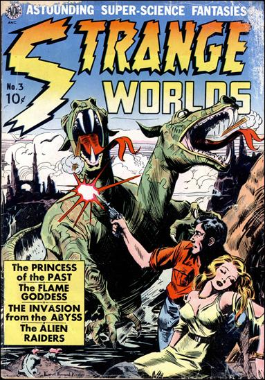 Strange Worlds (1950) 3-A by Avon