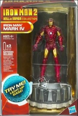 Iron Man 2 (Hall of Armor) Iron Man (Mark IV) by Hasbro