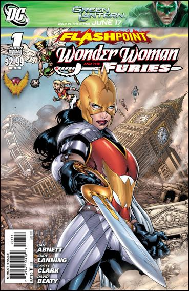 Flashpoint: Wonder Woman &amp; the Furies 1-A by DC