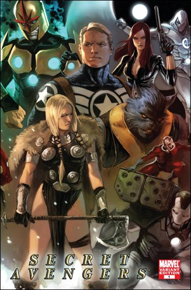 Secret Avengers (2010) 1-C by Marvel