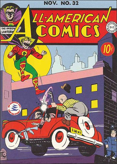 All-American Comics (1939) 32-A by DC