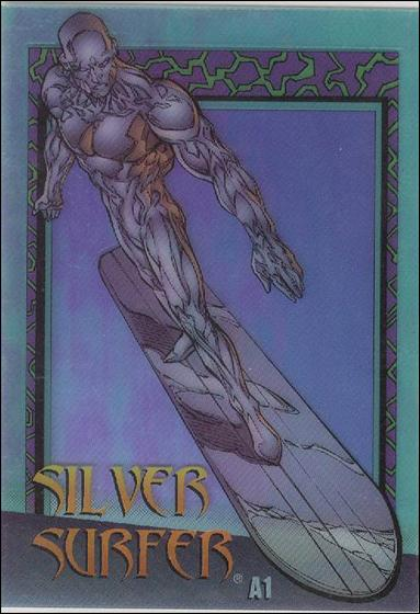 Marvel vs WildStorm (Clearchrome Subset) A1-A by Fleer/SkyBox