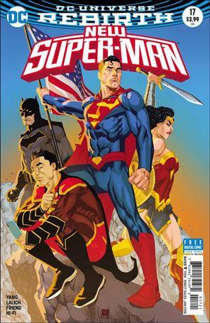 New Super-Man 17-B