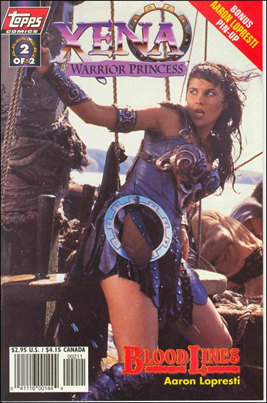 Xena: Warrior Princess: Bloodlines 2-B by Topps