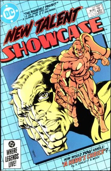 New Talent Showcase (1984) 14-A by DC