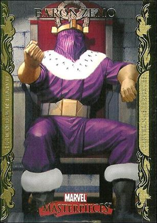 2007 Marvel Masterpieces (Parallel Gold Border Base Set) 6-A