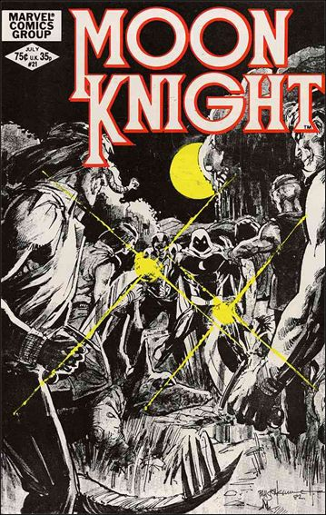Moon Knight (1980) 21-A by Marvel