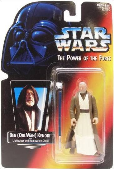 "Star Wars: The Power of the Force 2 3 3/4"" Basic Action Figures Ben (Obi-Wan) Kenobi .00 (Short Saber/Short Tray) by Kenner"