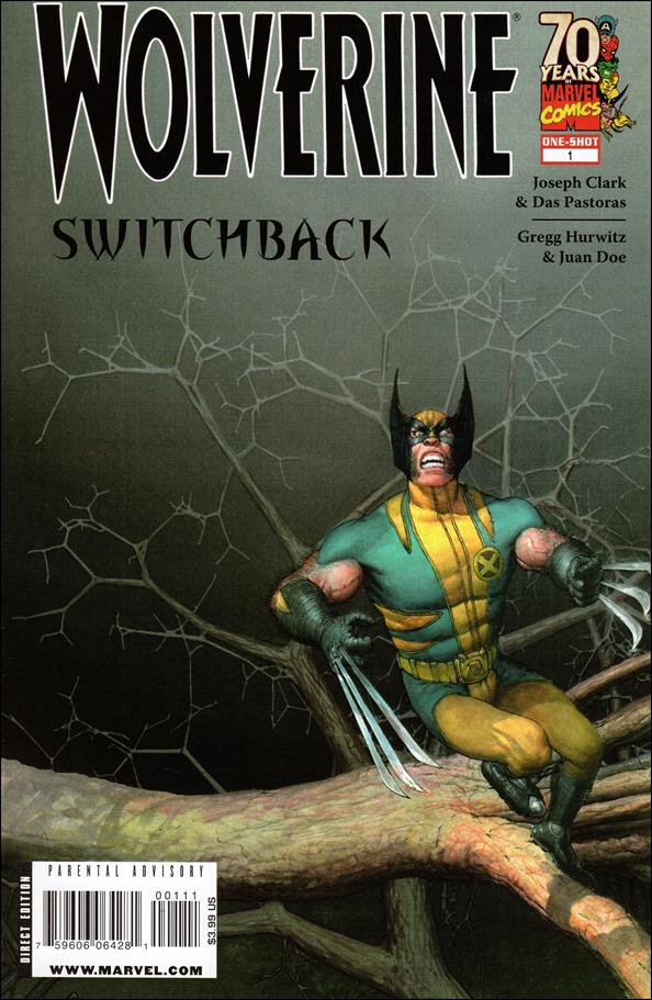 Wolverine: Switchback 1-A by Marvel