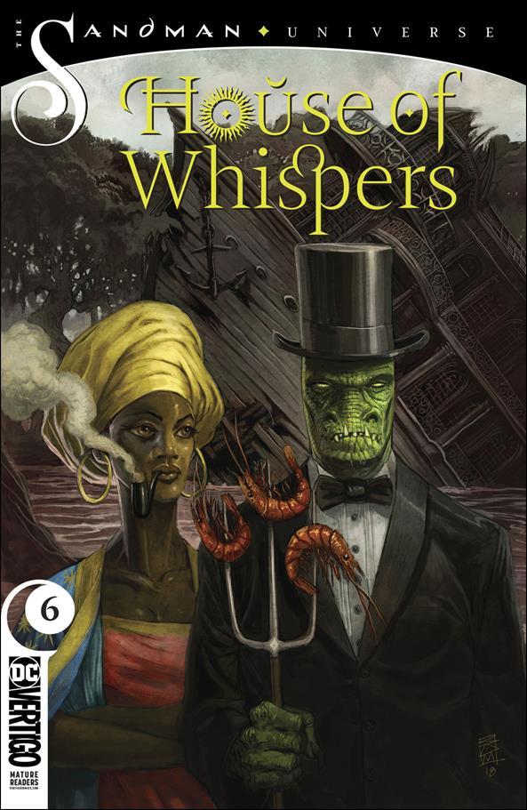 House of Whispers 6-A by Vertigo