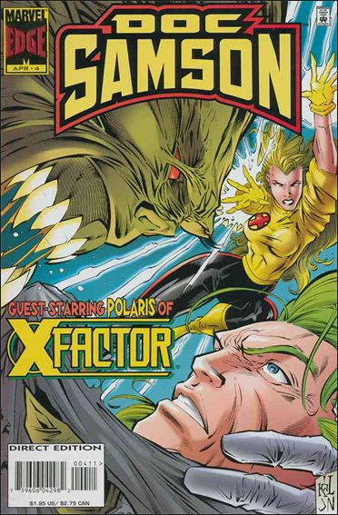 Doc Samson (1996) 4-A by Marvel