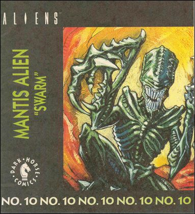 Aliens Action Figure Mini-Comics 10-A by Dark Horse