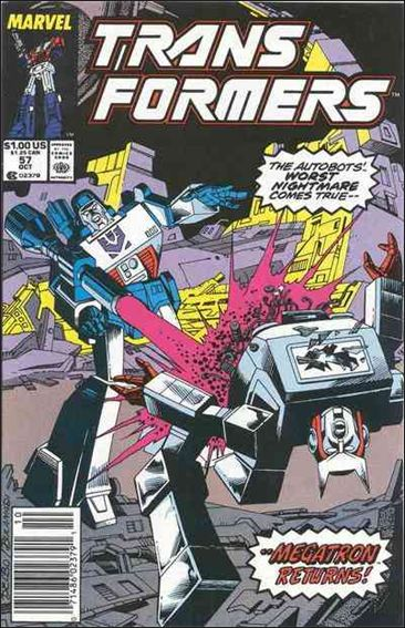Transformers (1984) 57-A by Marvel