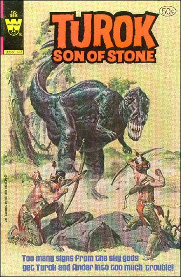 Turok, Son of Stone (1956) 126-A by Gold Key