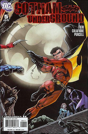 Gotham Underground 5-A by DC
