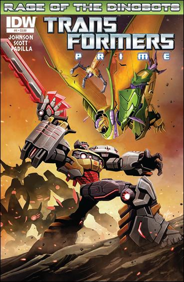 Transformers Prime: Rage of the Dinobots 4-A by IDW