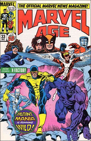 Marvel Age 33-A by Marvel