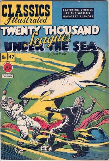 Classic Comics/Classics Illustrated 47-A by Gilberton