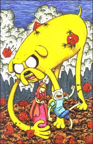 Adventure Time 1-D by Kaboom!