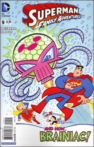 Superman Family Adventures 9-A by DC