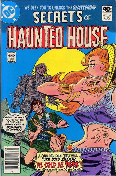 Secrets of Haunted House 27-A by DC