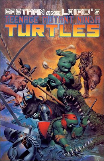 Teenage Mutant Ninja Turtles (1984) 33-A by Mirage
