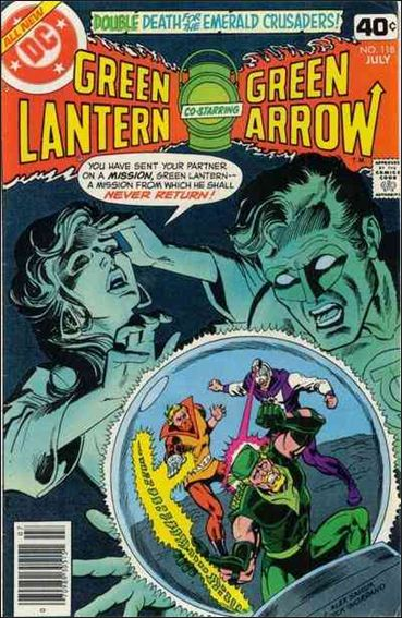 Green Lantern (1960) 118-A by DC