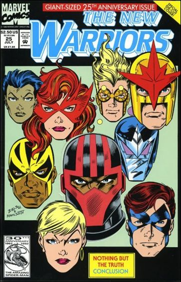 New Warriors (1990) 25-A by Marvel