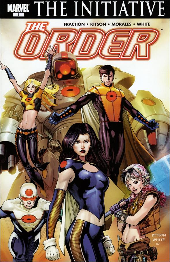 Order (2007) 1-A by Marvel