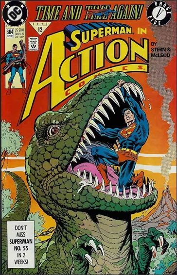 Action Comics (1938) 664-A by DC