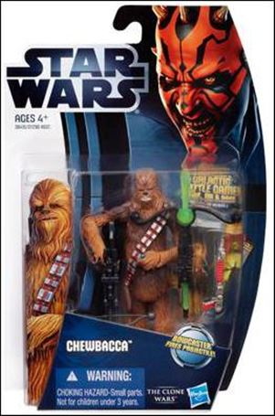 "Star Wars: The Clone Wars Collection 3 3/4"" Figures (2012) Chewbacca"