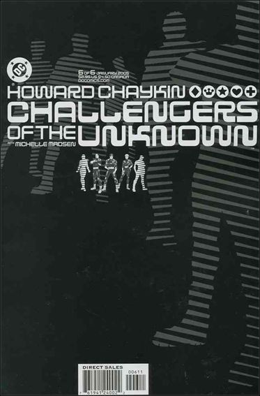 Challengers of the Unknown (2004) 6-A by DC