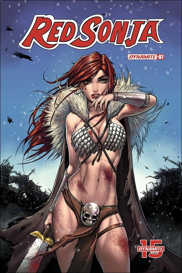 Red Sonja (2019) 7-D by Dynamite Entertainment