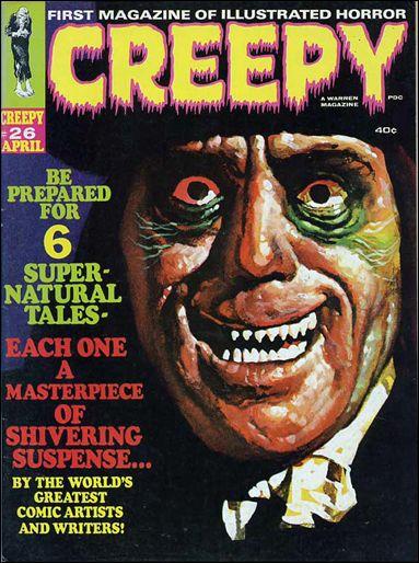 Creepy 26-A by Warren