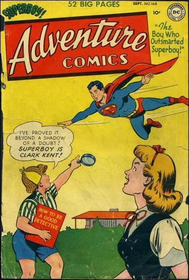 Adventure Comics (1938) 168-A by DC