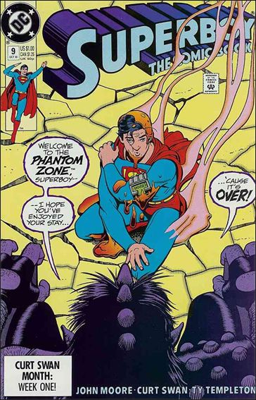 Superboy (1990) 9-A by DC