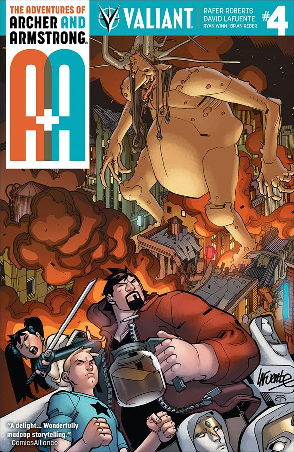 A&A: The Adventures of Archer & Armstrong 4-A by Valiant Entertainment