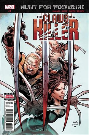 Hunt for Wolverine: Claws of a Killer 1-A