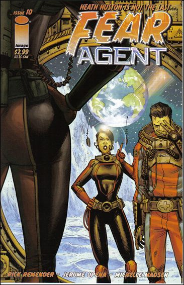 Fear Agent (2005) 10-A by Image