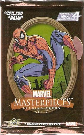 2008 Marvel Masterpieces: Series 2 2-A