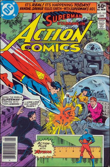 Action Comics (1938) 515-A by DC