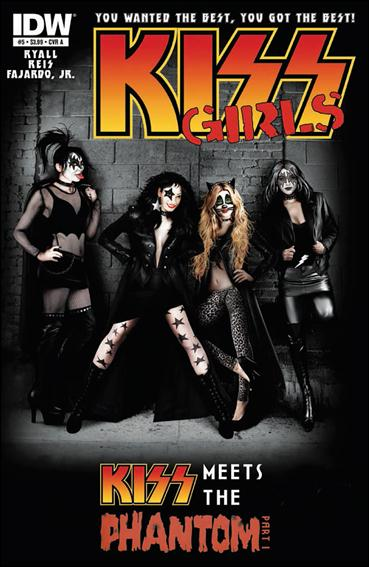 Kiss (2012) 5-A by IDW