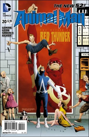 Animal Man (2011) 20-A by DC