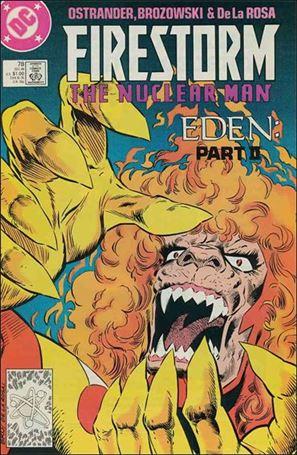 Firestorm The Nuclear Man (1987) 78-A