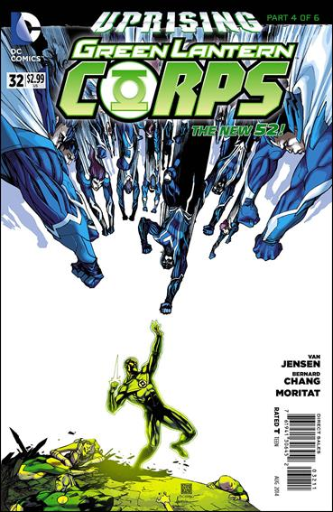 Green Lantern Corps (2011) 32-A by DC