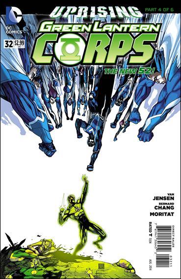 Green Lantern Corps (2011) 32-A by DC