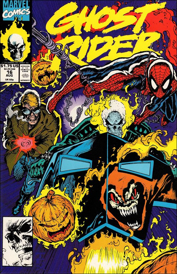 Ghost Rider (1990) 16-A by Marvel